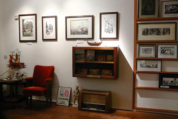 Veel origineel werk in het Kressemuseum